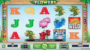 Flowers video slot