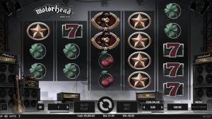 Motorhead video slot