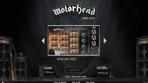 Motorhead Mystery reel