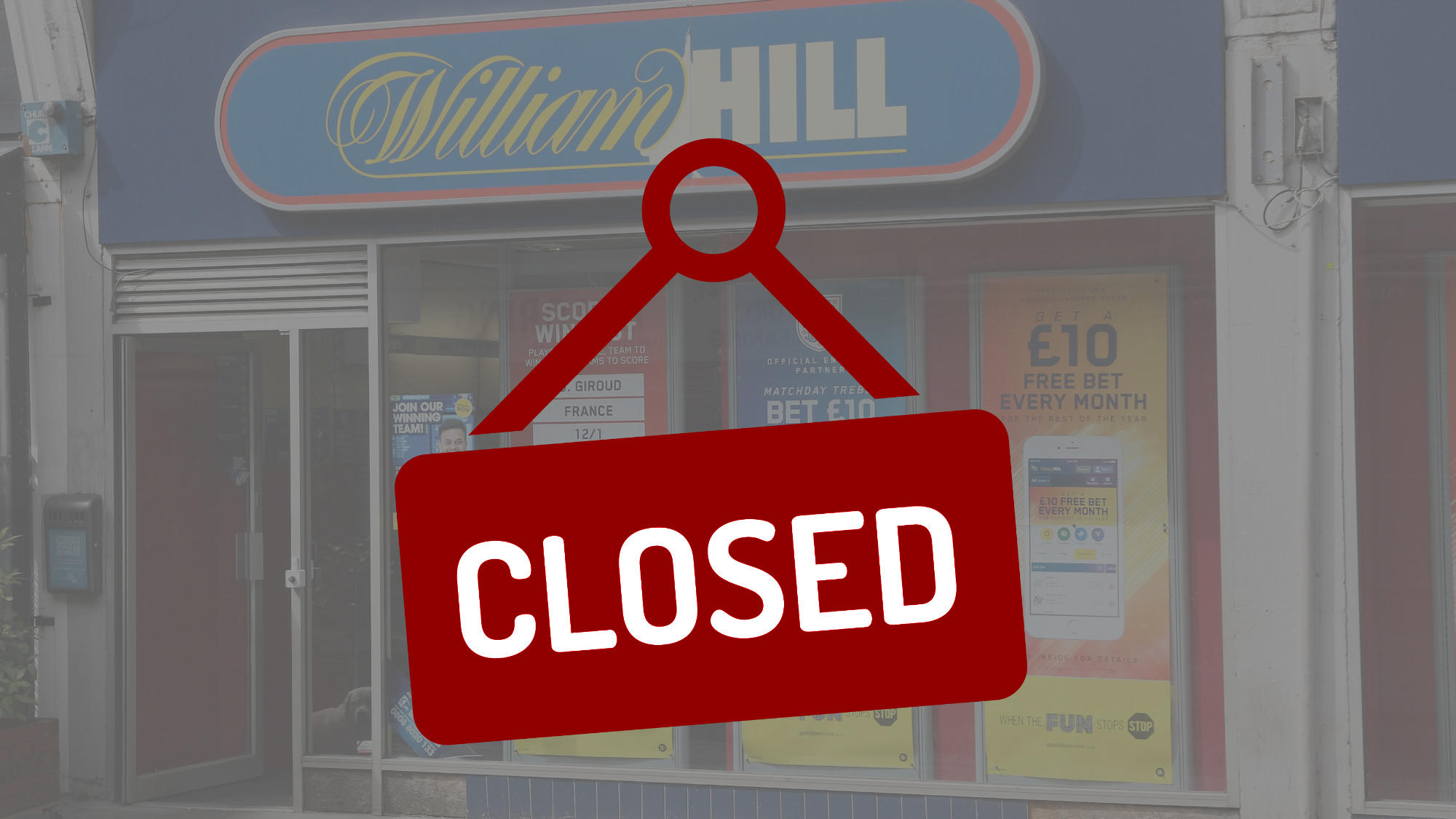 William Hill Closed