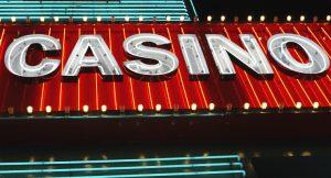 Casino Sign at Night