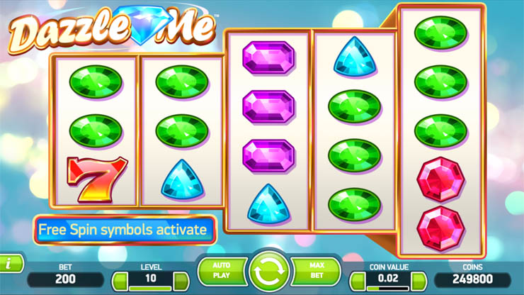 Play Dazzle Me Slots at Casino.com New Zealand