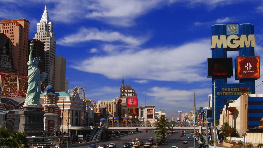 New York, New York and MGM Grand