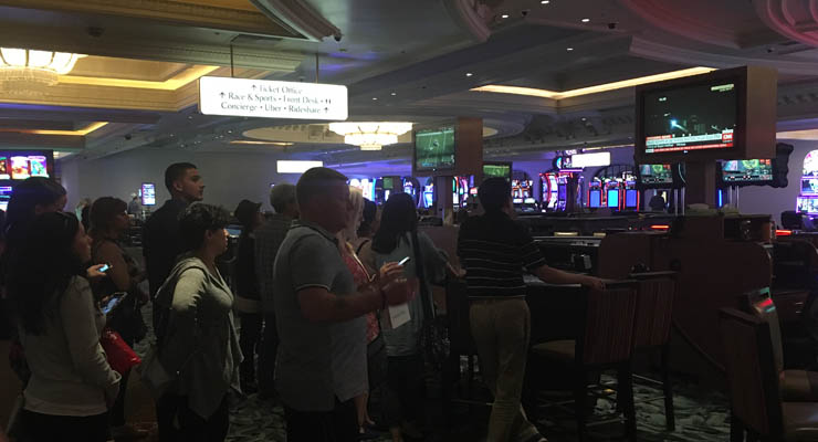 Vegas Attack: people in Monte Carlo casino