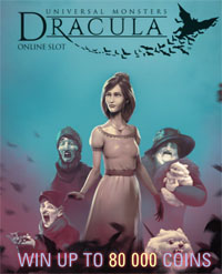 Dracula Online Slot Poster