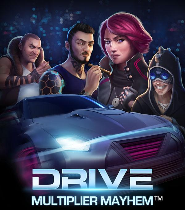 NetEnt's Drive: Multiplier Mayhem