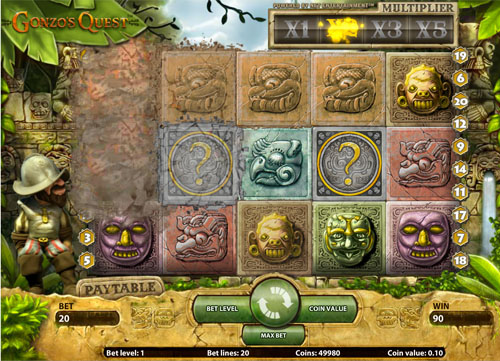 Gonzos Quest NetEnt Online Slot for Real Money - Rizk Casino