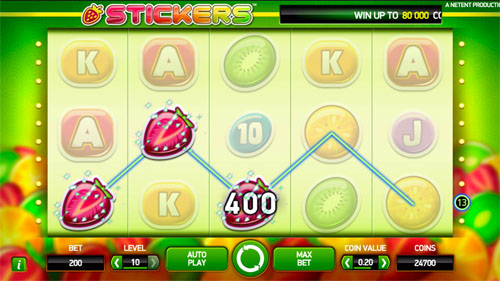 Play Stickers Slot Online at Casino.com UK