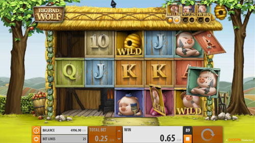 Big Bad Wolf video slot