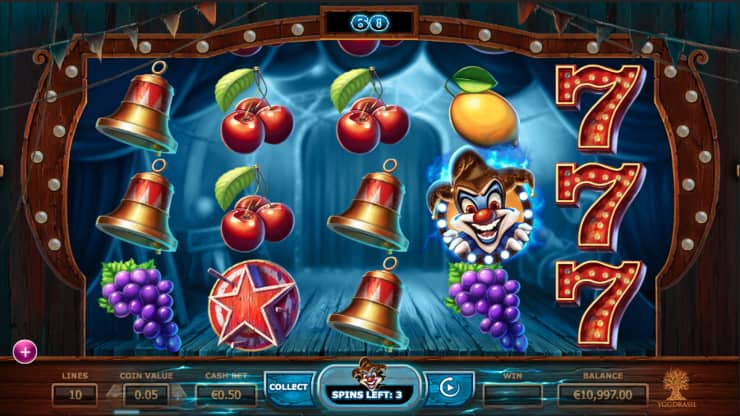 Wicked Circus video slot