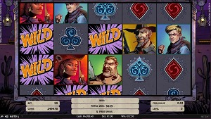 Wild Wild West Great Train Heist purple Wild